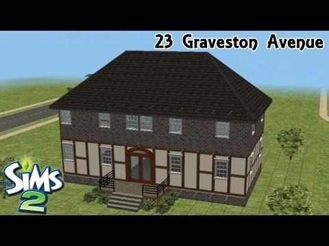 Sims 2 | House Build - 23 Graveston Avenue