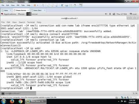IPv6 on RHEL 7