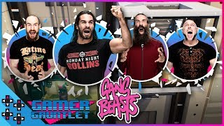 GANG BEASTS #3: SETH ROLLINS vs. HARPER vs. KONNOR vs. AIDEN ENGLISH - Gamer Gauntlet