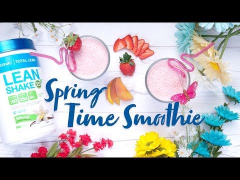 GNC – Let's Make A Springtime Protein Smoothie!
