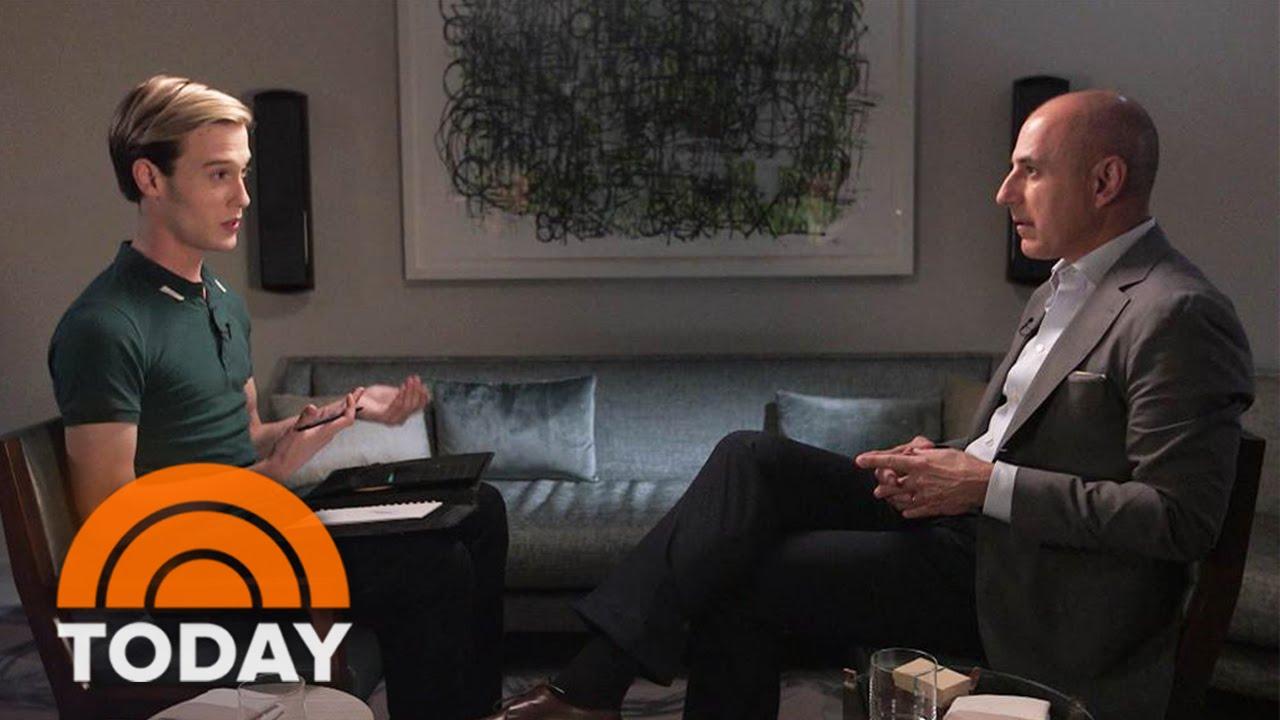 'Hollywood Medium' Tyler Henry Gives Matt Lauer An Emotional Reading   TODAY