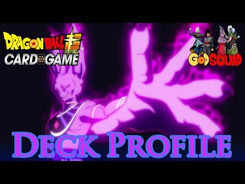 Undefeated Beerus The Destroyer Deck Profile - Dragon Ball Super Card Game w/Master MariK