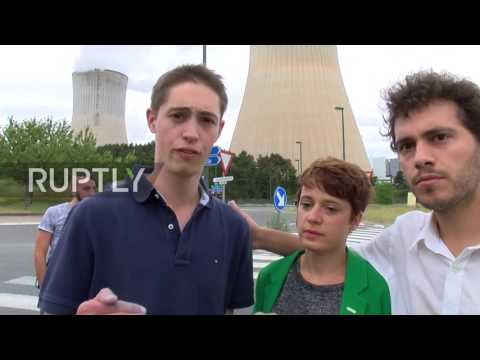 Belgium: Protesters form 90km long human chain calling for closure of Tihange nuclear plant