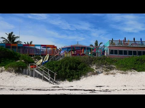 Tour of Nippers Bar & Grill, Great Guana Cay, Abaco Bahamas