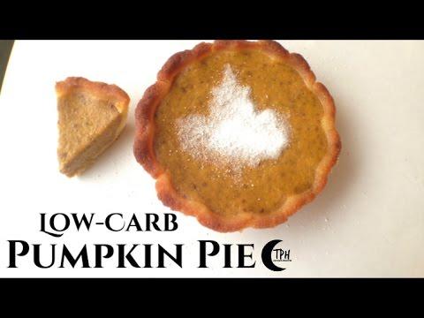 Keto Pumpkin Pie | Low-Carb Pumpkin Pie Recipe | Sugar-Free Pumpkin Pie