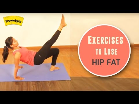 How to Lose Hip Fat Workouts | 5 Minute Exercises to Slim Hips at Home
