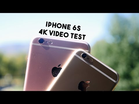 iPhone 6s 4K Video Test