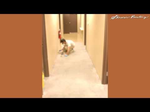 epoxy floor paint on concrete, how to paint epoxy, seattle painting, shearer painting