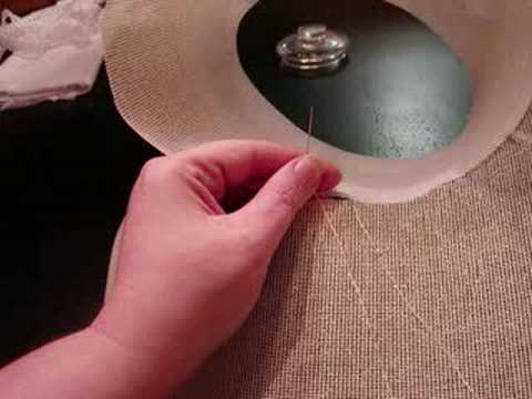 A Regency Stovepipe Bonnet Frame