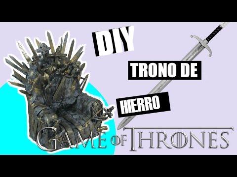 DIY | TRONO DE HIERRO| IRON THRONE | Game of Thrones GoT7 | Edgar Alfaro