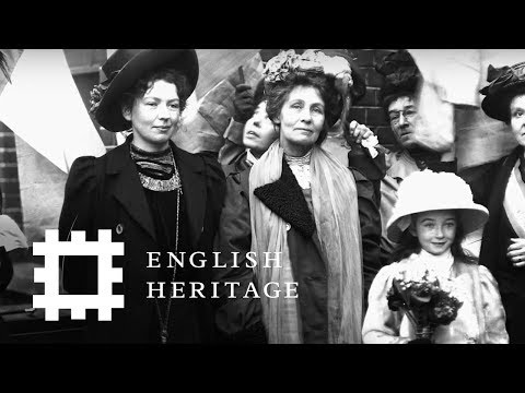 Pankhurst Blue Plaques: 100 Years of the Suffrage Movement