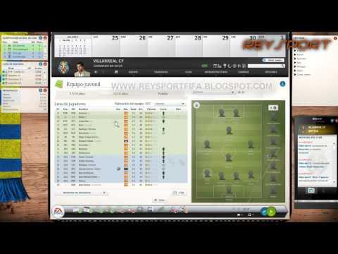 CAPITULO 1 | Fifa Manager 13 | HD | Gameplay en Español | Preparando la pre-temporada [Villareal]