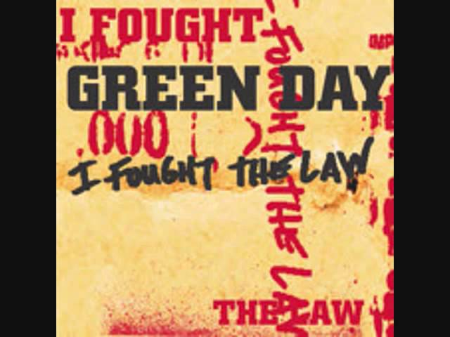I Fought The Law - Green Day