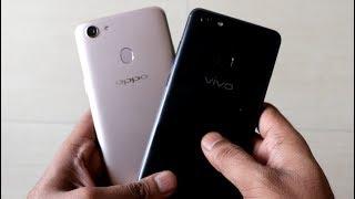 OPPO F5 vs Vivo V7+ (Camera, Selfie, Design and Specifications)