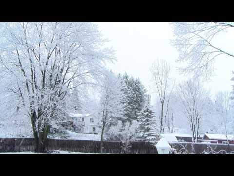 Snow in Cortland 4 7 17