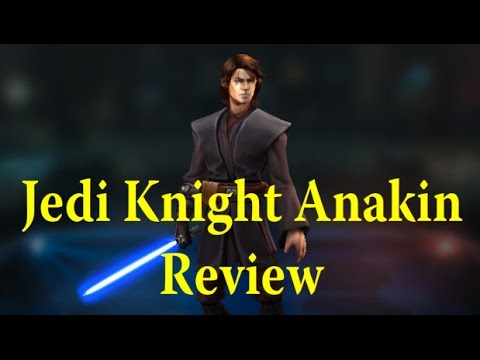 Star Wars: Galaxy Of Heroes - AMAZING Jedi Knight Anakin Gameplay Review