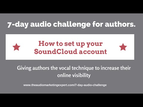 How to set up your SoundCloud account