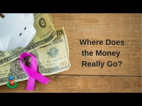 Where Do Cancer Fundraising Dollars Go?  Not Here!