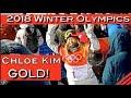 Chloe Kim - 2018 Winter Olympics Pyeongchang Women's Snowboarding GOLD! @Amy Moncure