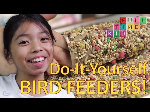 Easy DIY Bird Feeders!   Full-Time Kid   PBS Parents