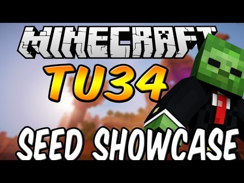 Minecraft PS4 XBOX WII U TU34 Seed Showcase Blacksmith With Diamonds And Desert Temple