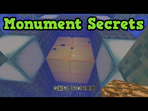 Minecraft Xbox 360 / PS4 Ocean Monument Secrets