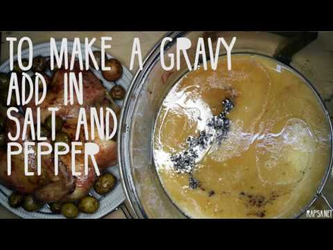 Best Gravy Ever Using Just a Turbo Broiler!