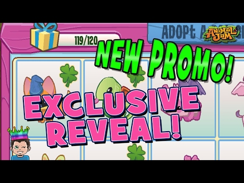 EXCLUSIVE NEW PROMO LIVE REVEAL - ANIMAL JAM ADOPT-A-PET CODES!!