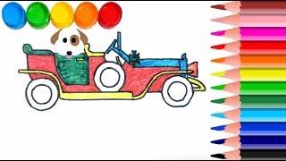 Araba çizimi Boyama Videos 9tubetv