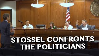 Download Stossel Confronts Politicians about Corruption Allegations Video