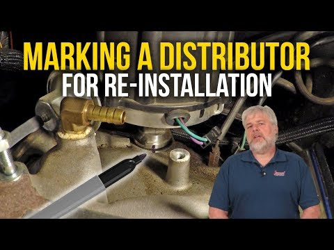 Marking a Distributor for Re-Installation - Summit Racing Tech Tip