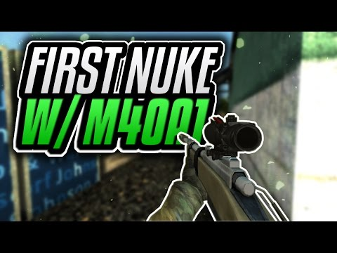 Bullet Force: My First Nuke! M4OA1 Sniper Gameplay w/ Commentary