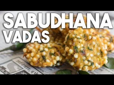Sabudhana Vadas - Tapioca Pearl and Potato Patty