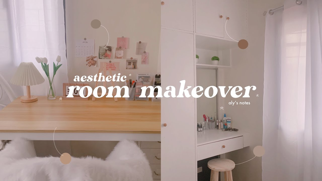 Aesthetic Room Makeover + Shopee Finds 🌸