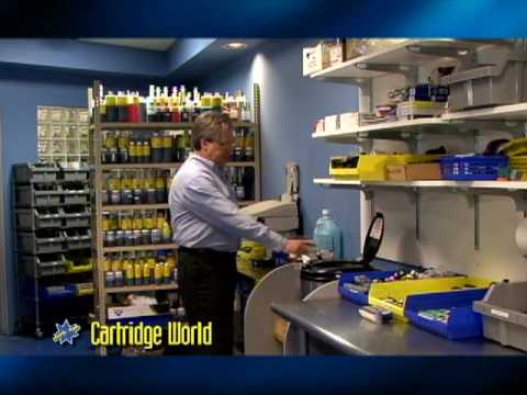 Promotional commercial online Video - Cartridge World,  Legacy Video Studio Clearwater FL