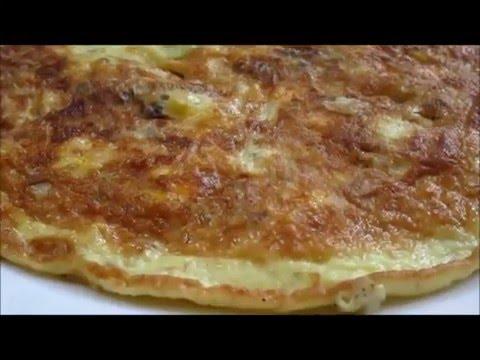 Cheese Mushroom Omelette Recipe