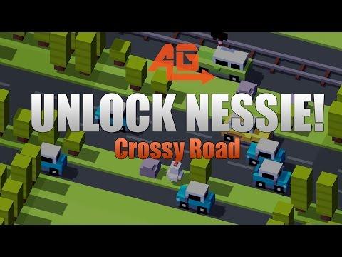 CROSSY ROAD HOW TO UNLOCK NESSIE