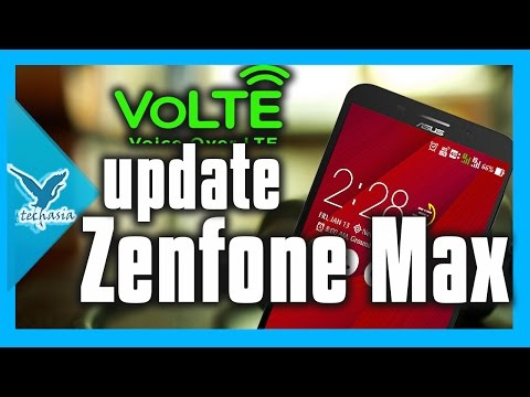 ASUS ROLLED OUT VOLTE SUPPORT IN ASUS ZENFONE MAX