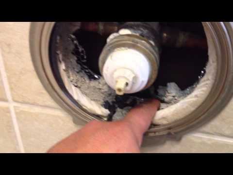 Part 1 of 2 - Delta Faucet Tub Shower Valve Cartridge Replacement Repair 1700 Series RP 32104