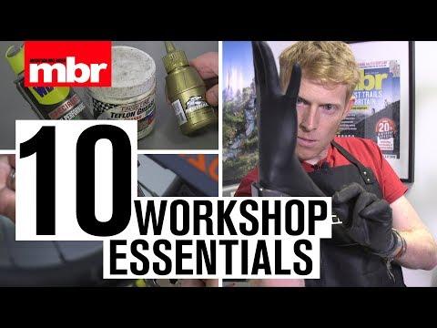 Top 10 Workshop Essentials | Mountain Bike Rider
