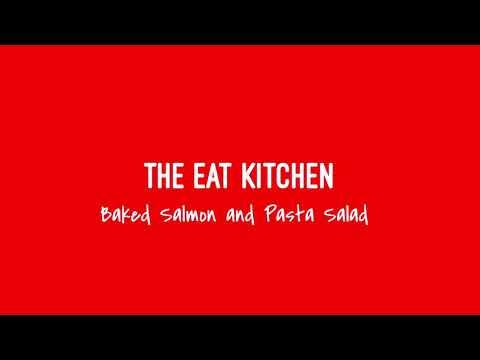 Baked Salmon & Pasta Salad