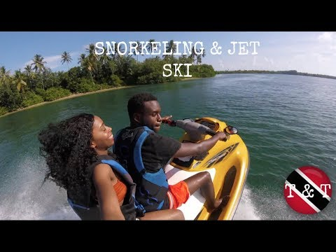 SNORKELING & JET SKI'S |WE CAN'T SWIM!! |Tobago Part 2|Travel Vlog 2017