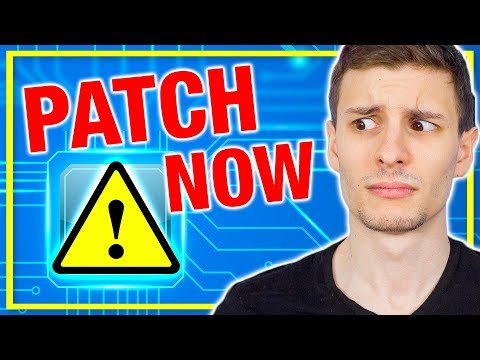 ⚠️Your CPU Is Spying On You! Patch it Now! (Intel CPU Exploit Found)