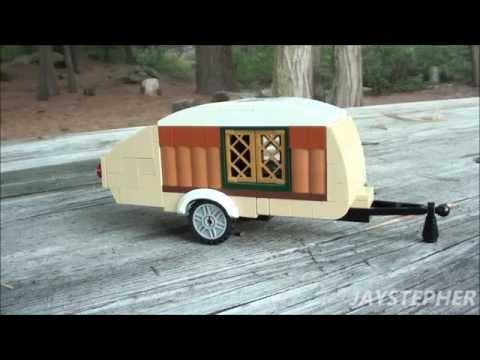 Take III Of Lego Teardrop Travel Trailer