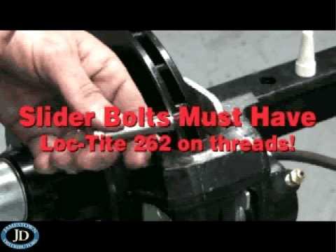 Tie Down Marine Boat Trailer Brake Pad Replacement