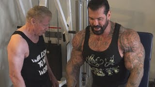 Filming a Rich Piana Video with Jim Arrington #2