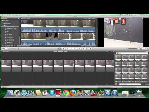 iMovie 9 Basics Tutorial #20 Stop Motion Video Part 2