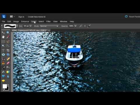 Photoshop Elements 10: High Pass Filter