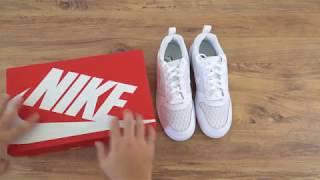 sports shoes f73c3 571eb Nike Court Borough Low Se Erkek Spor Ayakkabı Unboxing