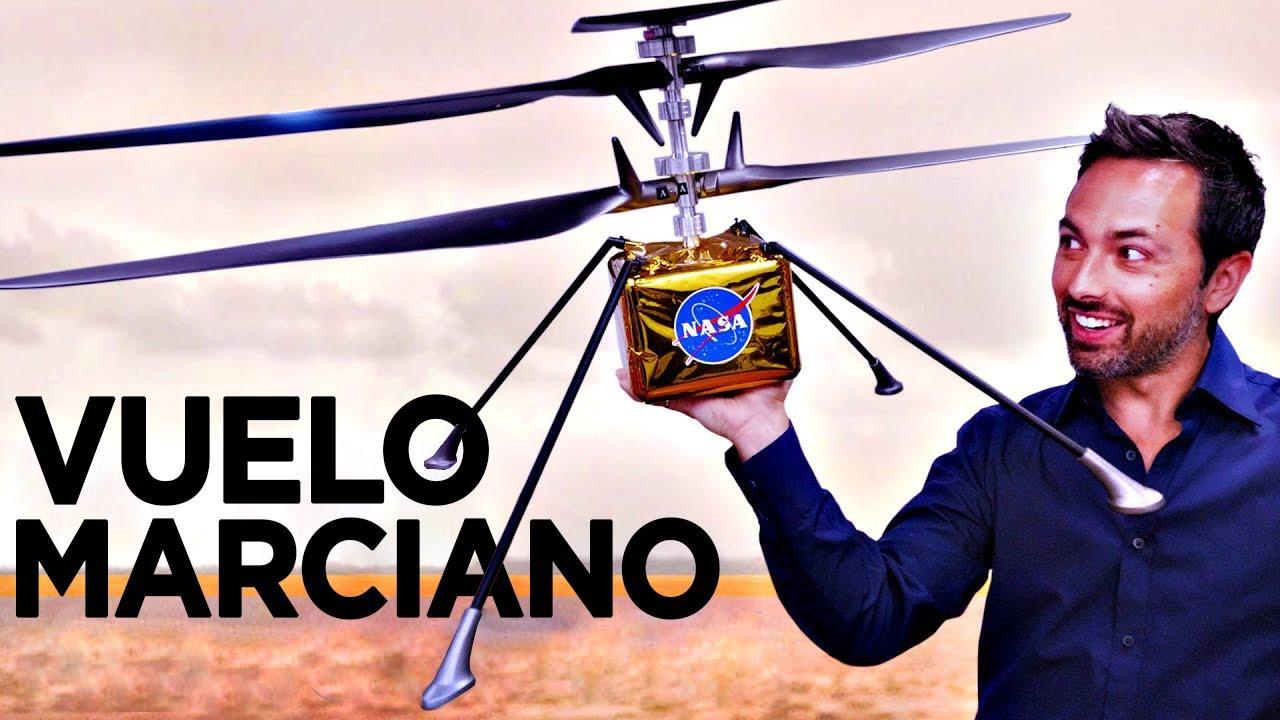 El Primer Vuelo en Marte - Próxima Misión MARS 2020 - Exploración del Ingenuity y el Perseverance